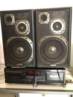 Speakers Aiwa (1 pair)