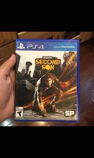 Game PS4 Infamous Second Son