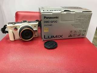95%new Panasonic DMC-GF2C camera 相機