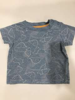 MOTHERCARE T-shirt 0-3 months baby