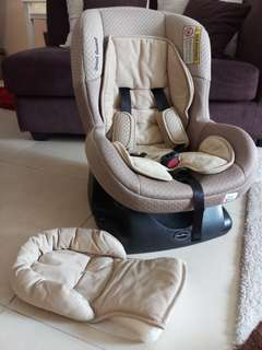 Sweet Cherry Carseat with Omniguard