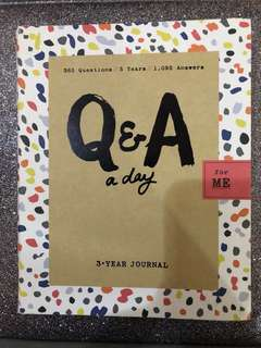 Q&A A Day (3-year journal)