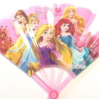 迪士尼 公主 Disney Princess 扇