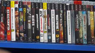 Preown Ps3 Games