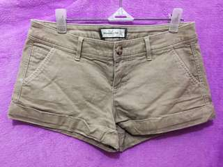 Abercrombie & Fitch Brown Shorts