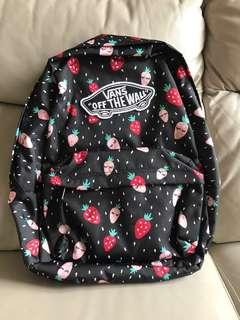🈹$200 Vans 全新 backpack 🍓🍓🍓🍓