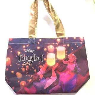 迪士尼 Disney 長髮公主 Rapunzel 細袋 手拎袋 飯袋