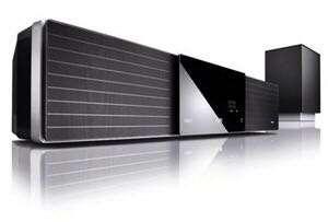Samsung 60' LCD + Philips Soundbar + Cambridge BR player