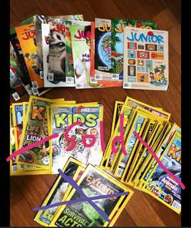 National Geographic Junior, Kids, ExplorerJunior Magazines