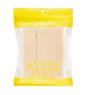 🆓📫 Skinfood Wedge Puff Sponge Jumbo Size 12pcs