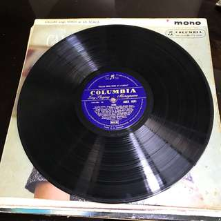 Vynil Records - Callas Sings Verdi at La Scala