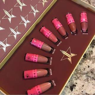 ✨ INSTOCK SALE: JEFFREE STAR MINI NUDES BUNDLE: VOLUME 1