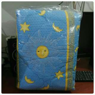 Bedcover King Size motif Matahari