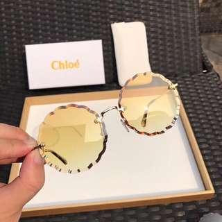Chloe sunglasses full set 100 %new