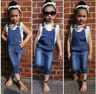 TOP + JEANS PANTS SET K1238
