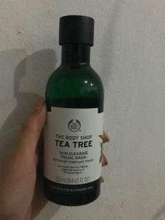 Tea tree skin clearing
