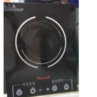 Rush Sale Induction Stove free set of pan
