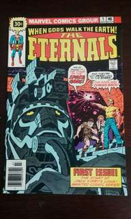 The Eternals #1 30 cent Variant