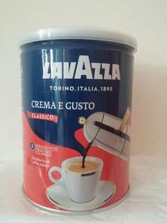 Lavazza 滴漏咖啡粉 creamy and full bodied ground coffee