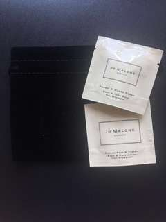 Jo Malone body & hand wash and lotion sample