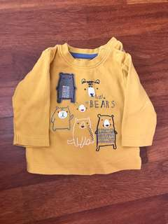 🚚 Mothercare long sleeve (0-3 months)
