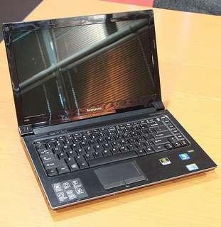 Lenovo i7 notebook 多配置、獨顯卡,128G SSD + 320  HDD高速固態硬碟8G Ram 、14寸屏、5妙開機3妙關機、打機、文書處理工作也可以。