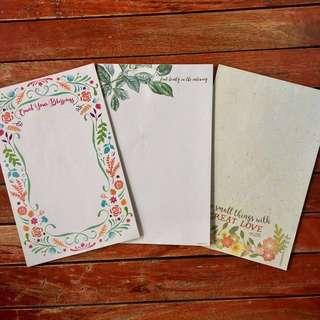 Papemelroti Notepads (3 pads)