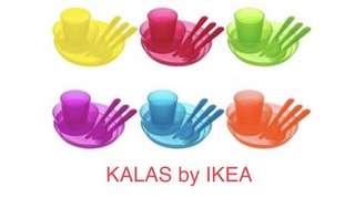 IKEA KALAS SET 36 pieces