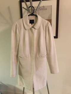 Portmans white coat