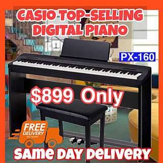 Casio TOP-SELLING Digital Piano With Warranty