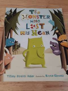 The Monster Who Lost His Mean book