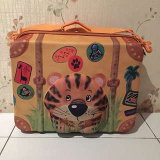 Okiedog Wildpack Suitcase - Tiger