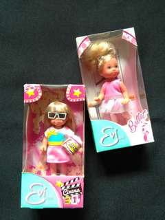 Boneka Barbie Evi love / Kelly look