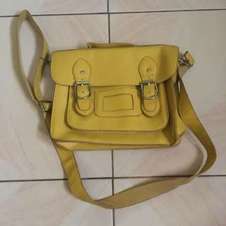 2in1 Way Bag (Color : Yellow)