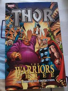 Marvel book - Thor