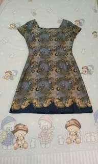 Dress batik #maudecay