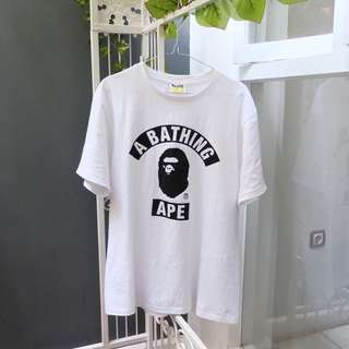 A BATHING APE LOGO TEE