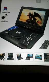 "OEM New 9"" Portable Player (Black Colour)"