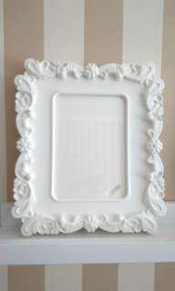 Ikea Kvill White Plastic Photo Frames (set of 2)