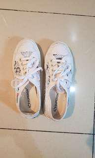 Very good condt. Superga white shoes only