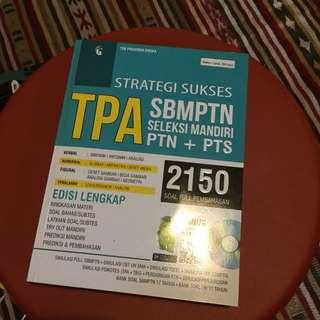 Strategi Sukses TPA SBMPTN Seleksi Mandiri PTN + PTS