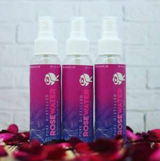 Rose Beauty Water 100% pure mawar asli