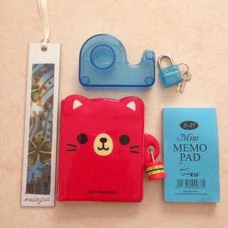 Mini Cute Stationery Set #KayaRaya