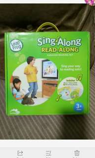 Leap frog sing along read along