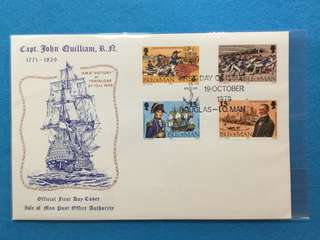 1979 Isle Of Man In Memory Of Capt. John Quilliam, Royal Navy, 1771-1829