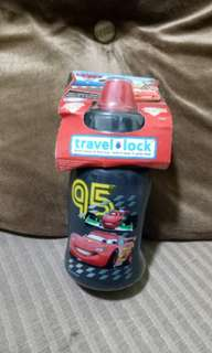 Travel lock sippy cup tumbler