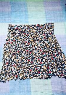 Floral skirt code#0005