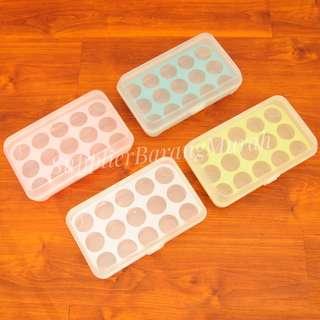Kotak Telur isi 15 ( tempat penyimpanan telor praktis kulkas