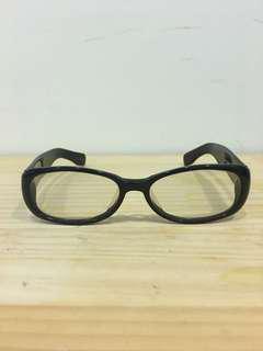 🚚 日本JUNKO黑色膠框眼鏡
