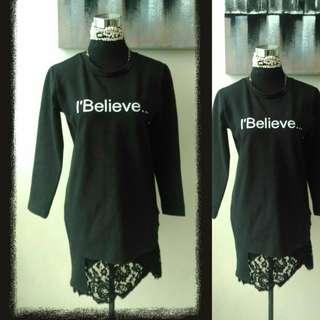 I Believe Tshirt Dress